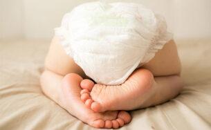 Các dấu hiệu nhận biết bị hăm tã ở trẻ sơ sinh