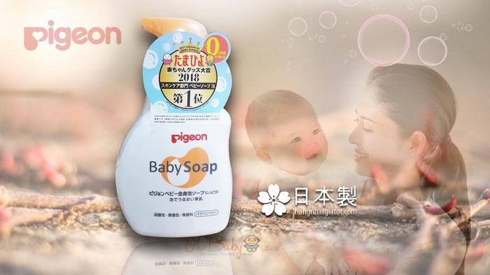 Những lưu ý khi sử dụng sữa tắm gội cho con