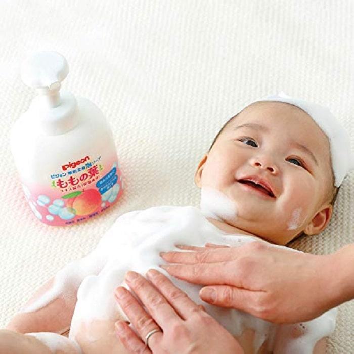 Pigeon là một trong những thương hiệu sữa tắm trẻ em đến từ Nhật Bản